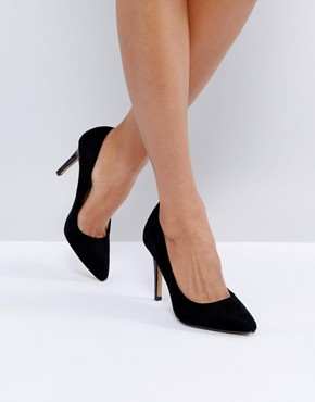 Head Over Heels by Dune Allice Pointed Court Shoes