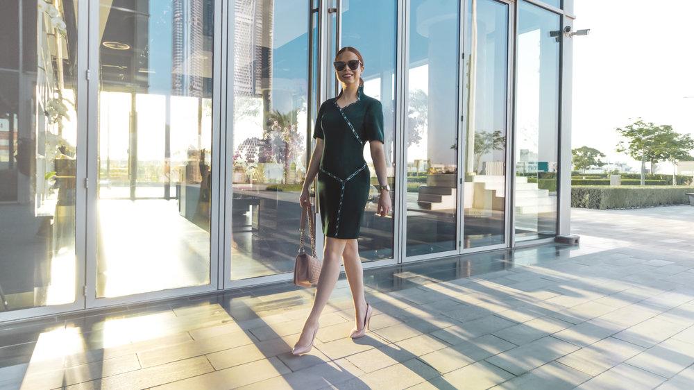 Briar Prestidge - Green Maraley Dress 7
