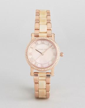 Michael Kors Rose Gold Petite Norie Watch