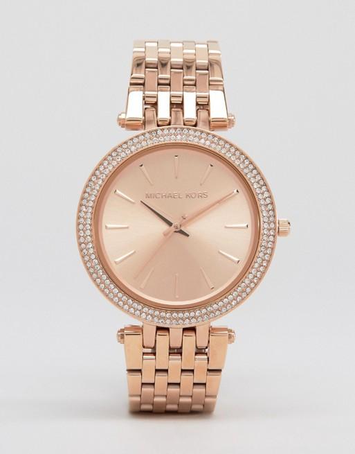 Michael Kors Darci Rose Gold Watch MK3192
