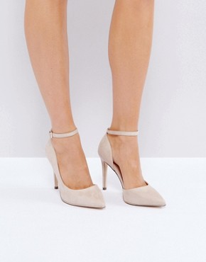 Call It Spring Exerina Nude Pointed Court Shoes