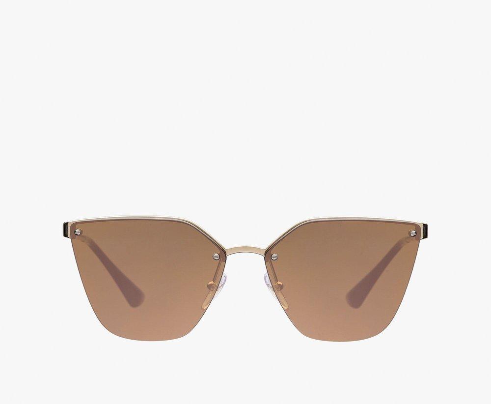 prada cinema sunglasses mirrored brown