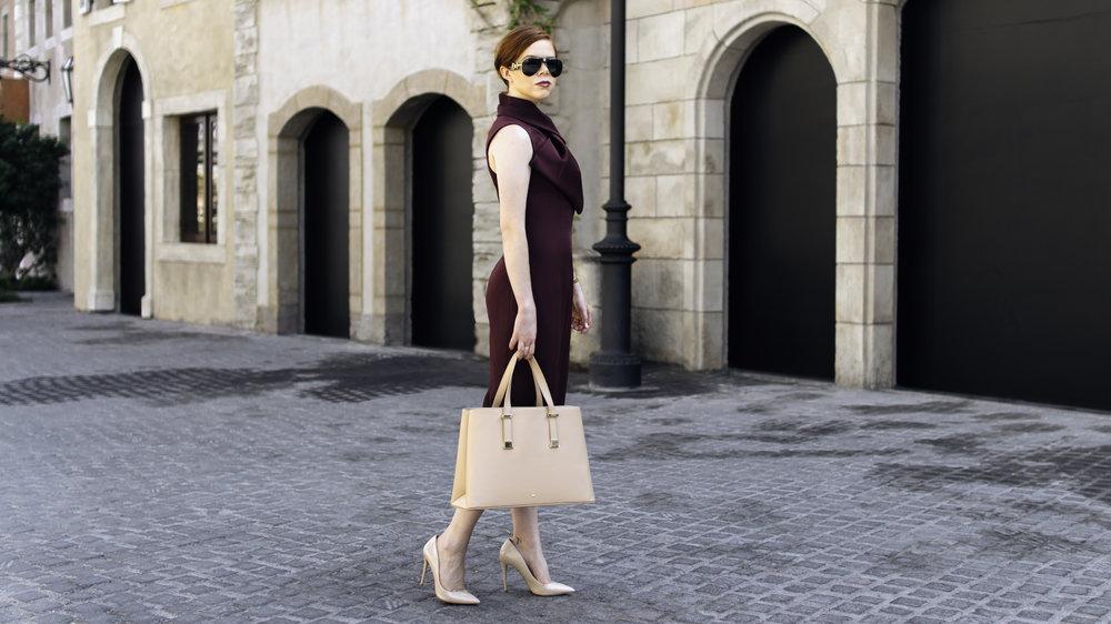 Briar Prestidge - Plum office fashion