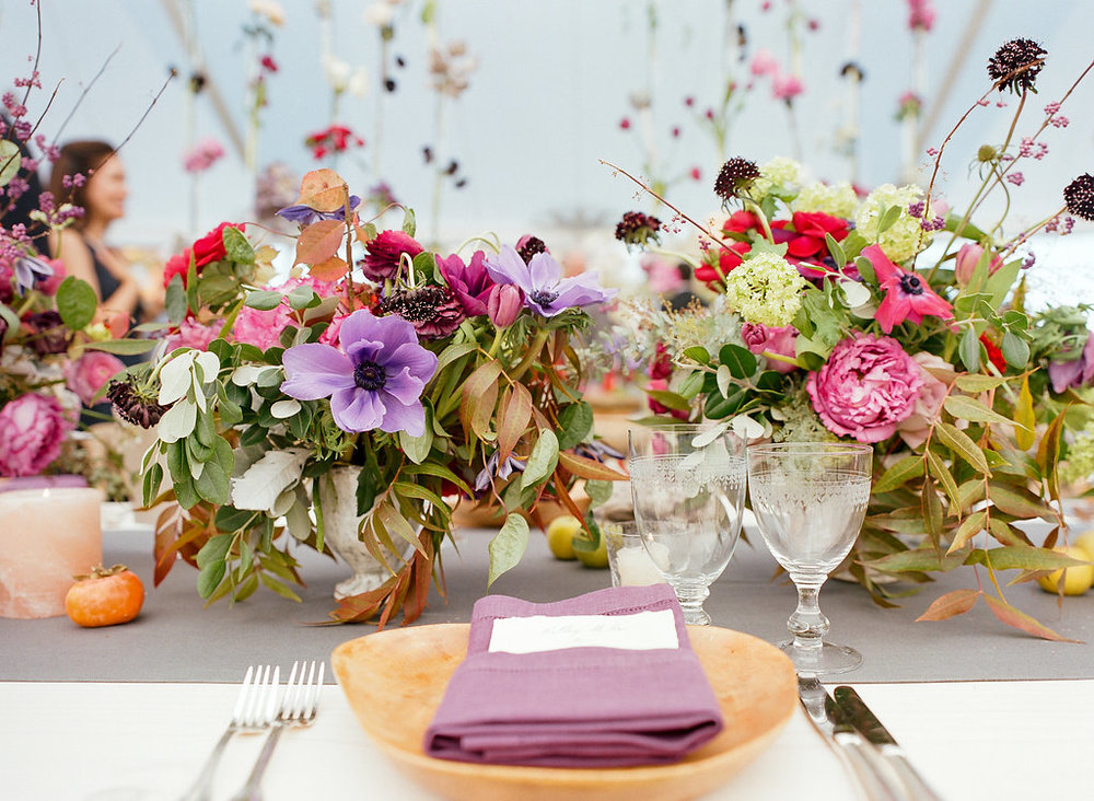 Photo by Kate Headley                                                                                                                                                                               Florals by Beehive Events