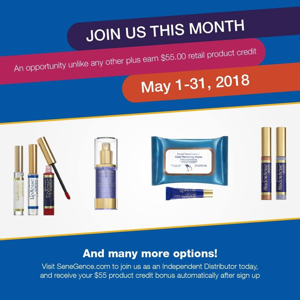 💋 NEW DISTRIBUTOR KITS ARE NOW AVAILABLE TO HELP LAUNCH YOUR BUSINESS! 💋 JUMP START PROGRAM REVAMPED!! 50% OFF QUALIFIED ORDERS FOR A FULL 90 DAYS!  💋 NEW PRODUCTS RELEASED & HALF OFF FEATURED PRODUCTS ALL MONTH LONG 💋 $55 FREE PRODUCT CREDIT WHEN YOU JOIN US THIS MONTH!