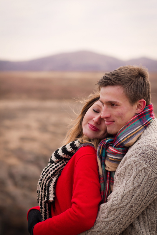 Winter couple in sweaters in the bluff.jpg