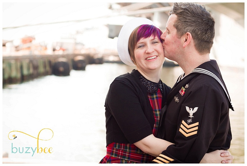 Navy Homecoming Couple Picture, Norfolk VA
