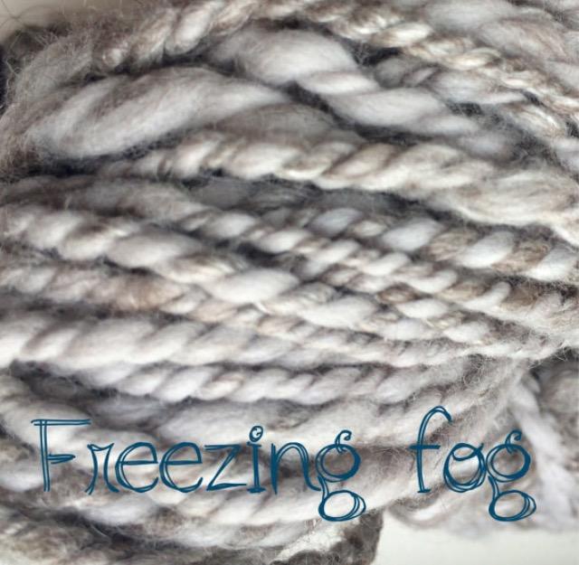 camel hair wool yarn freezing fog