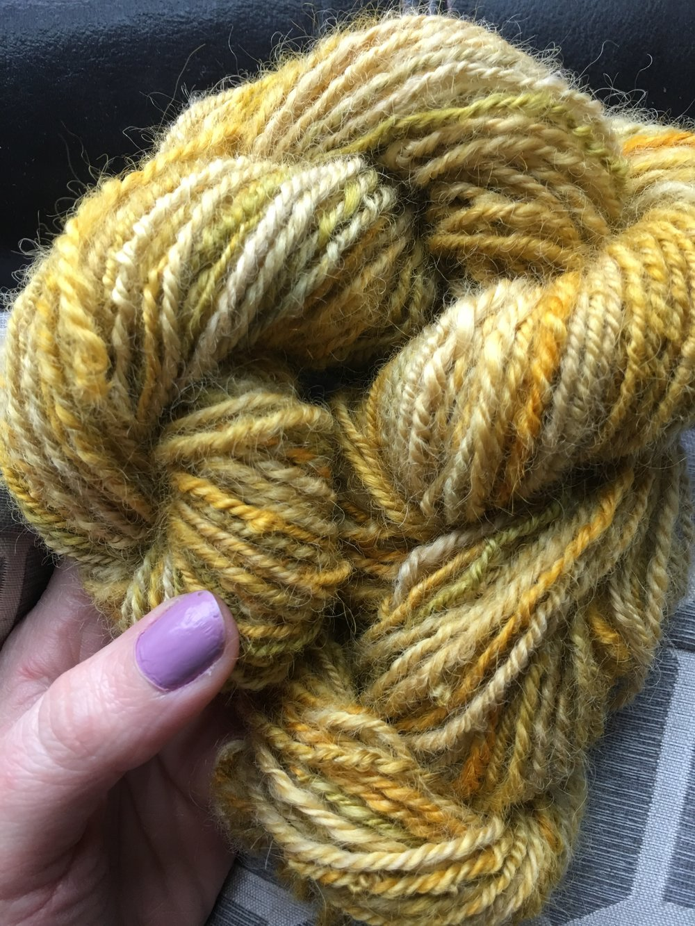 Learn how to Spin Yarn on Your Own Terms with CHY! - Weather you've never picked up a spindle or you're looking to start designing your own yarn on a spinning wheel We're here to help! I believe that it shouldn't matter if you live close to a friend who spins or local guild everyone should be able to have confidence and fun while creating the yarn of their dreams! Scroll down to see our exciting  yarn spinning courses.