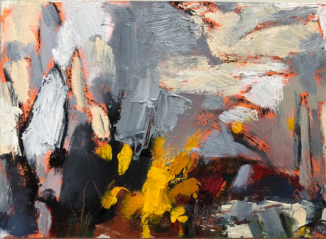 """Study 1, Oil on board, 5""""x7"""", $250 SOLD"""