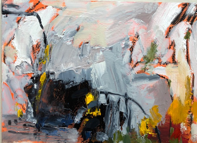 """Study 3, Oil on board, 5""""x7"""", $250 SOLD"""