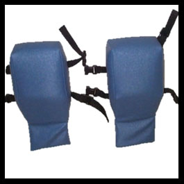 Shoulder Bolster Pad (pair)(Pedal Chair)