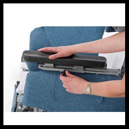 Depth Adjustable Armrest (48, 48R, Elite & Mid ONLY)