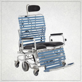 Bariatric Shower/Commode Chair Model B385