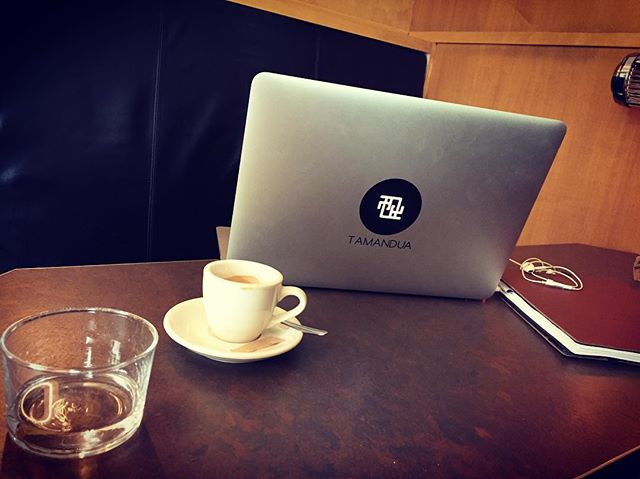 Out and about #mobility #flexibleworking #espressoporn #meetings #gotamandua