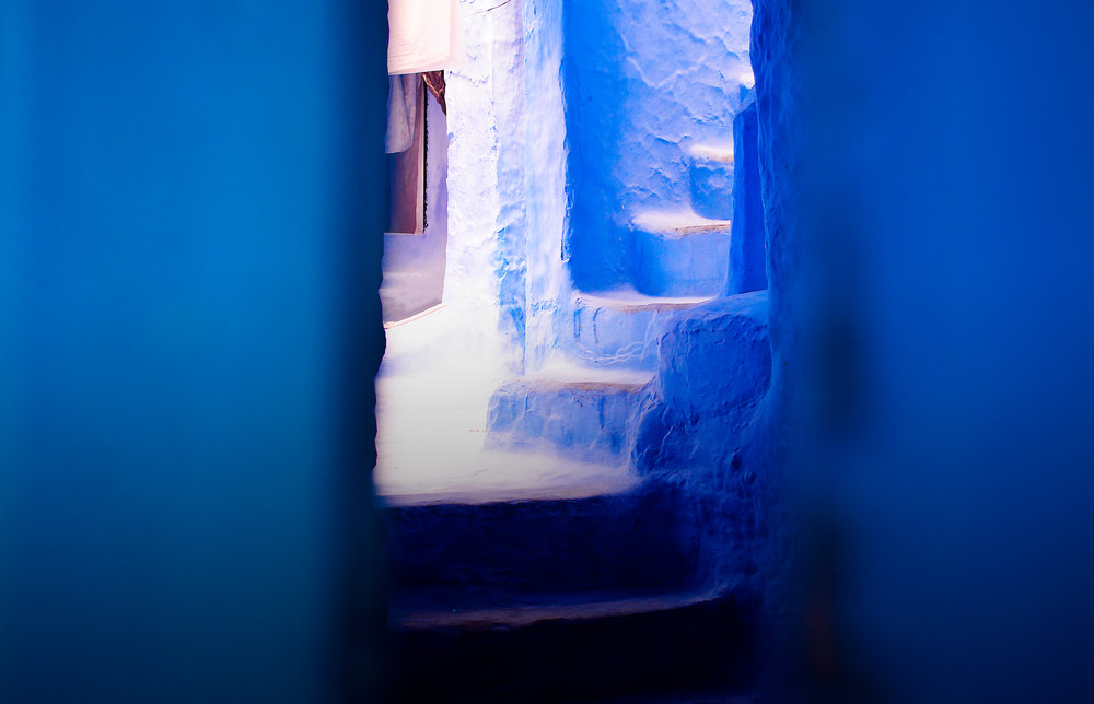 An invitation to enter, Chefchaouen, Morocco