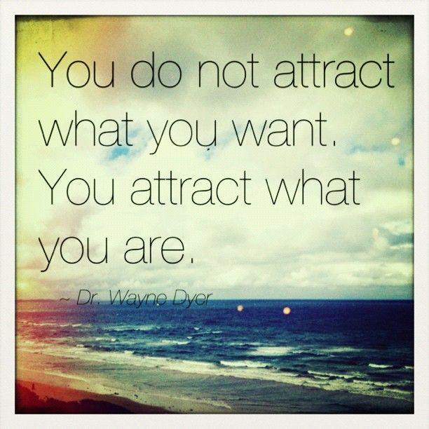 The law of attraction - Wayne Dyer