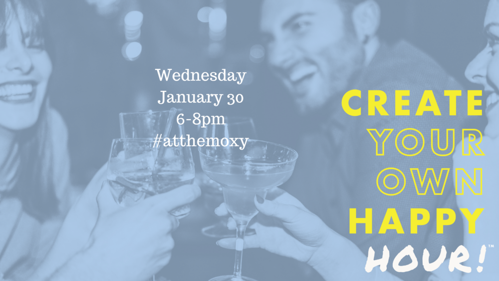 Create your own happy hour