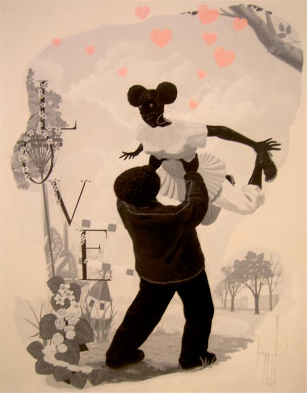 Kerry James Marshall, Vignette #2, 2008