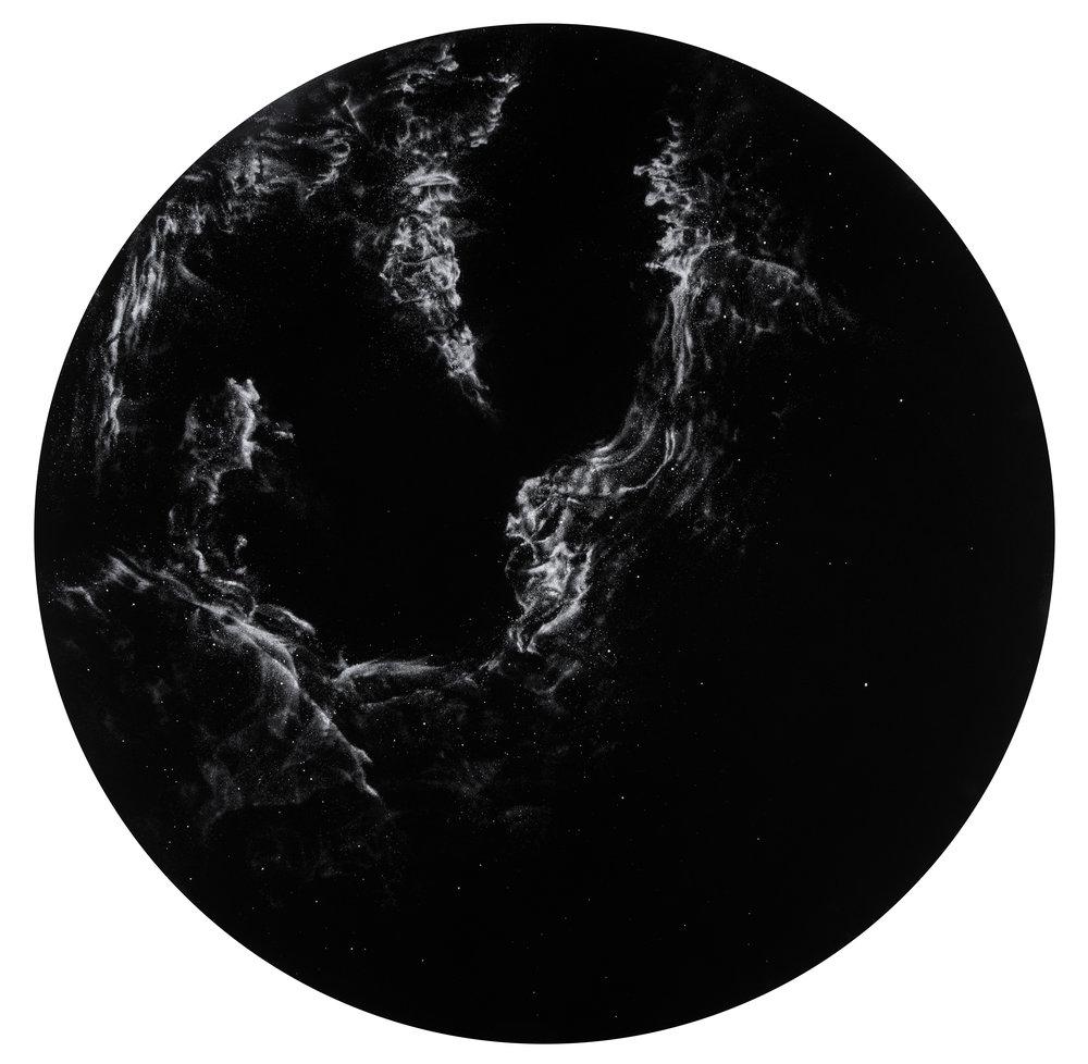 Matthew Brandt, From the series Night Sky SGR A, 2016, © Matthew Brandt, Courtesy Yossi Milo Gallery, New York