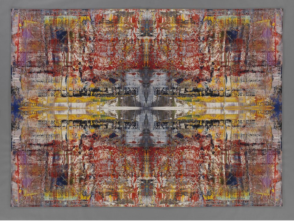Gerhard Richter. Musa, 2009. Jacquard woven tapestry