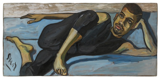 Alice Neel, Ballet Dancer, 1950 Oil on canvas Hall Collection. © The Estate of Alice Neel. Courtesy David Zwirner, New York/London and Victoria Miro, London.