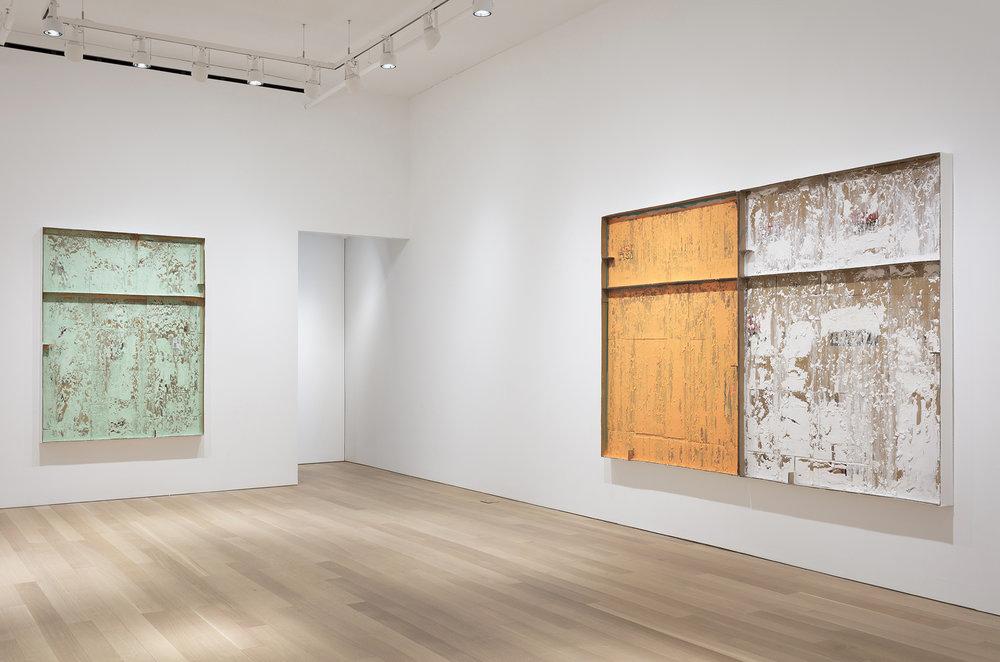 Carlos Bunga, Absence, (Installation) at Alexander and Bonin, New York Photo by Joerg Lohse