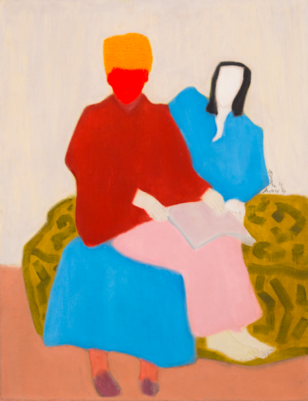 Milton Avery Mother's Boy, 1944 oil on canvas Courtesy of Michael Rosenfeld Gallery LLC, New York
