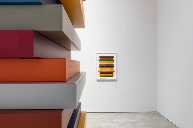 Sean Scully, Wall of Light Cubed at Cheim Read Courtesy the artist and Cheim and Read