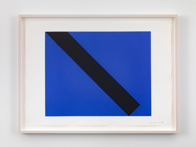 Carmen Herrera, Untitled, 2014 Acrylic and pencil on paper © Carmen Herrera; Courtesy Lisson Gallery