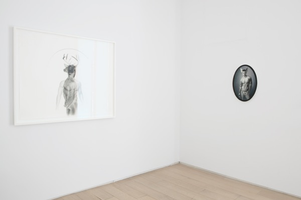Installation View of Taner Ceylan Latest Works from the Golden Age. Photo by Diego Flores and Christopher Stach. Courtesy of Paul Kasmin Gallery