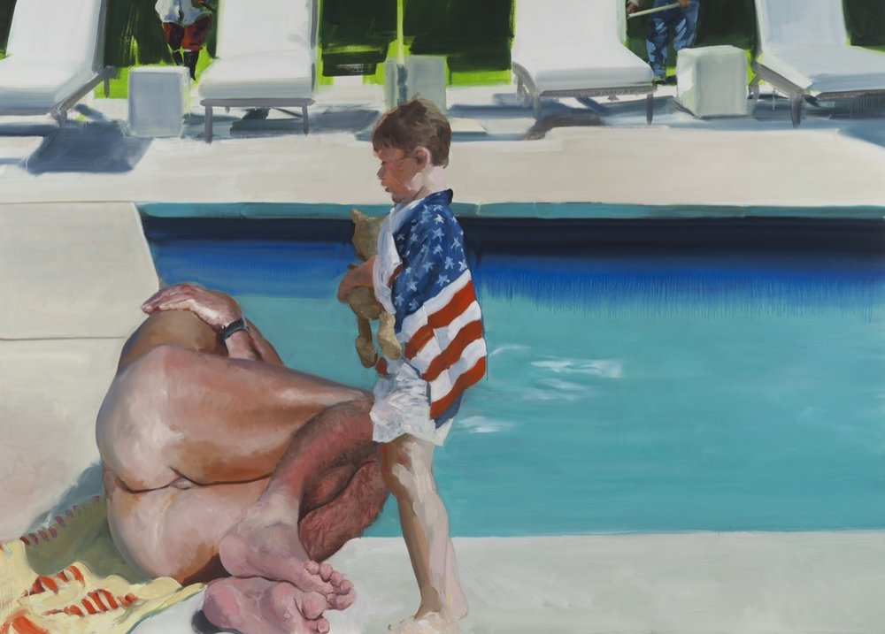 Eric Fischl, Late America, 2016. © Eric Fischl. Courtesy of the artist and Skarstedt, New York.