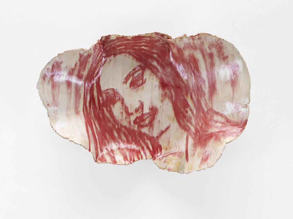 Ghada Amer, MA VENUS DE MILO 2017, Glazed ceramic