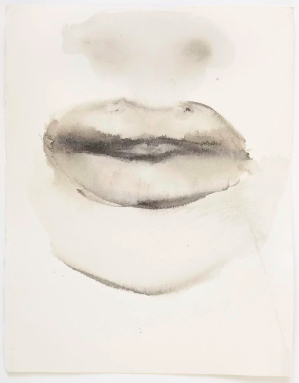 Marlene Dumas,She speaks (2015–2016. ©Marlene Dumas. Courtesy of David Zwirner, New York/Hong Kong.
