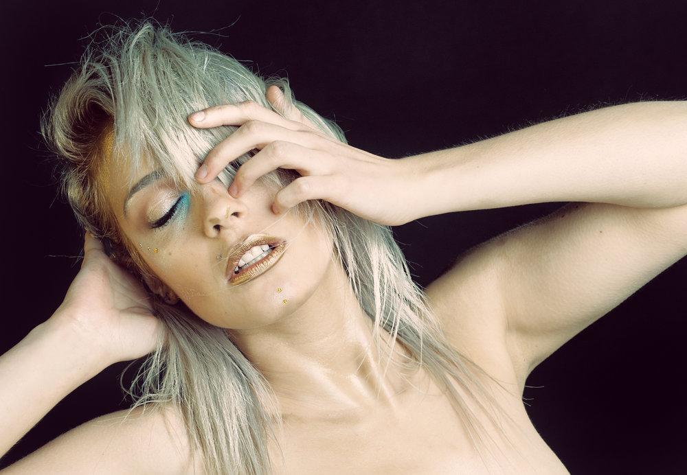 Brenna Kiewicz as model, MUA Alicia Pomarzynski
