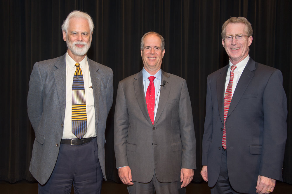 Professor Gary Allison, Dr. David Lawrence, Professor Curtis Frasier