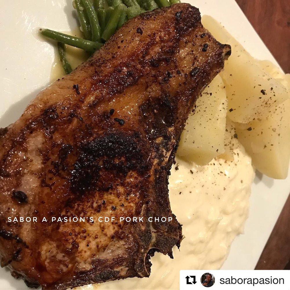 Sabor a Pasion CDF pork chop.jpg