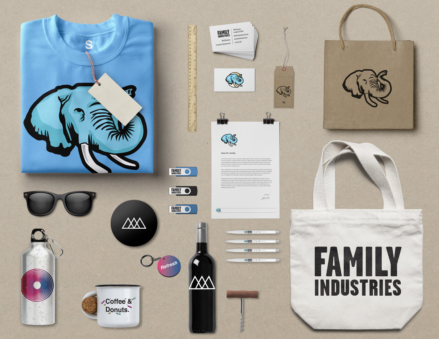 promotional items family industries
