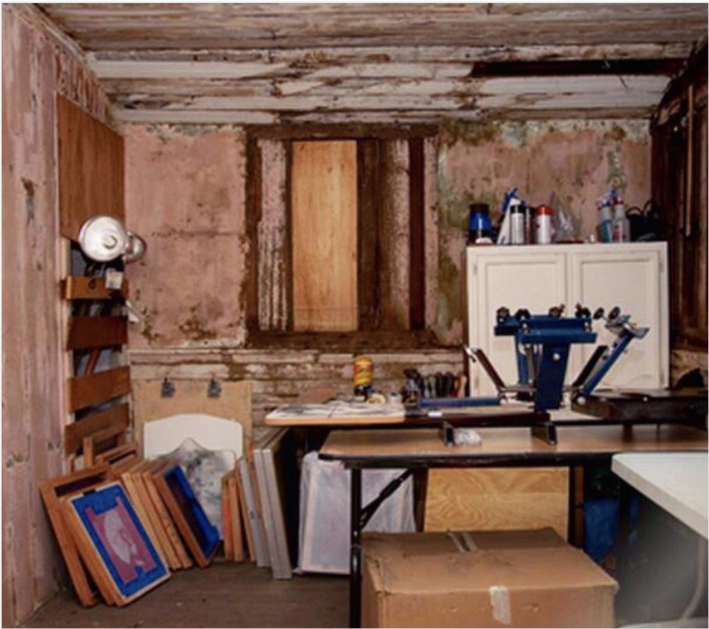 """The carriage house. Max & Alex's first """"office""""."""