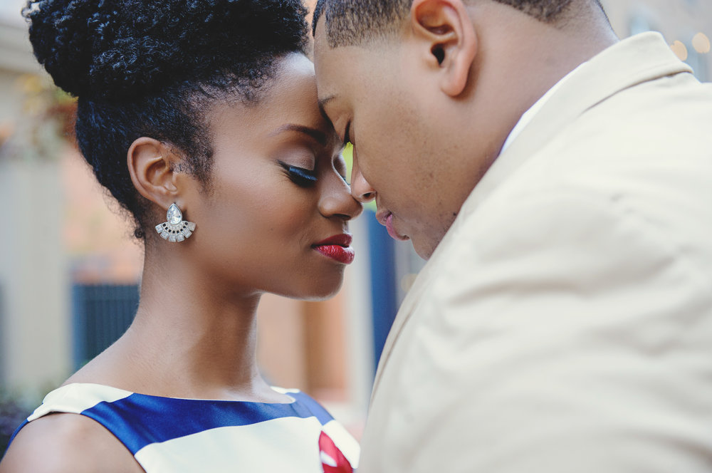 engagement pictures natural hair black love