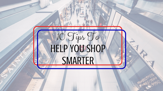 tips to help you shop smarter