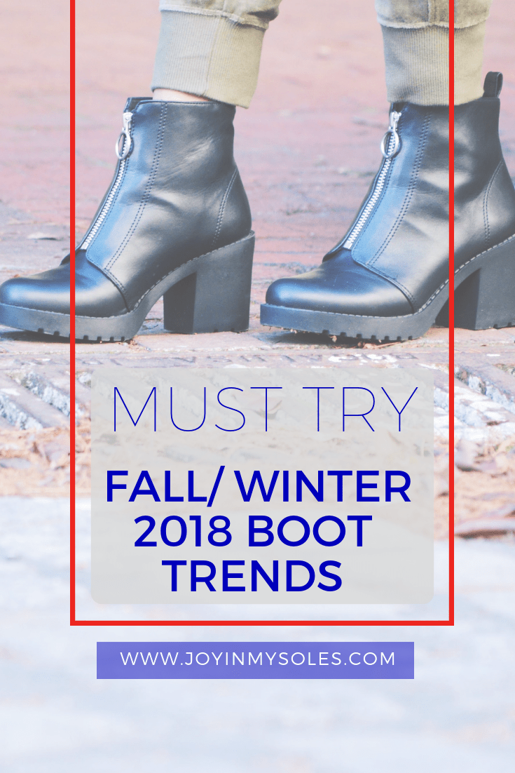 2018 boot trends