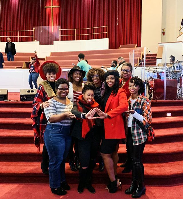 Happy Founders' Day to all of my sorors! #PBCDeltas #Deltaswhochurch
