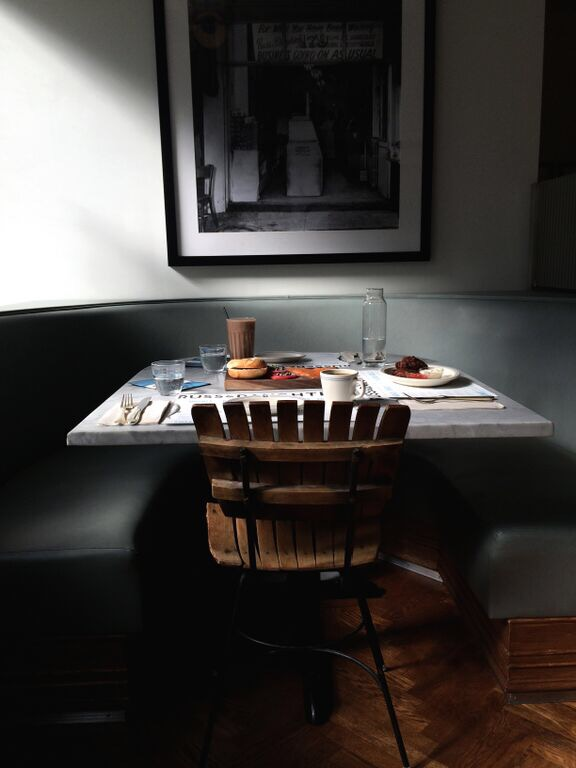 Russ & Daughters Cafe table.JPG