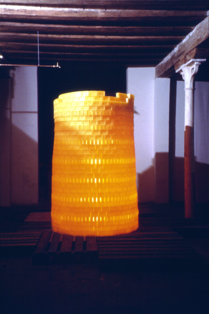 Installation view, Almazen, Barcelona, 2002