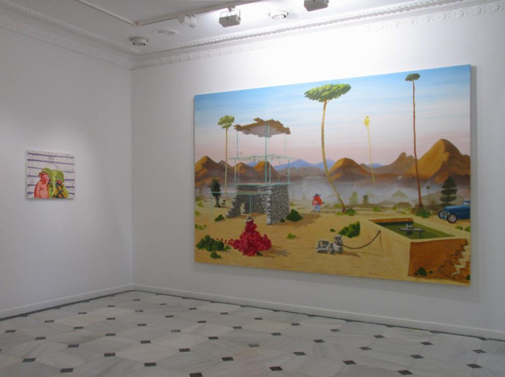 Installation view, Vacío 9, Madrid, 2005