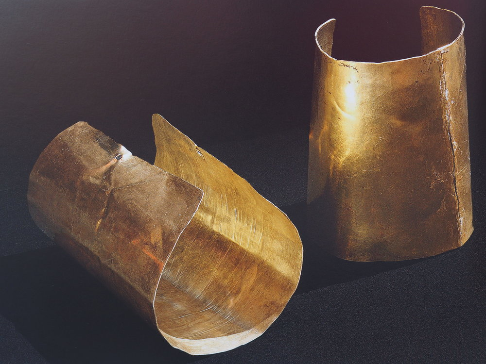 GOLD INCA BRACELETS
