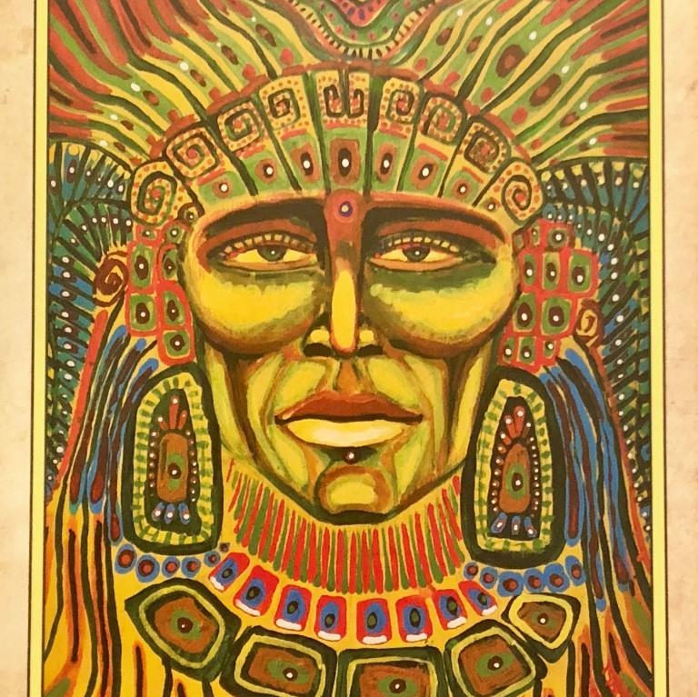 'WIRACOCHA' THE CREATOR GOD ( artwork by Isabel Bryna )