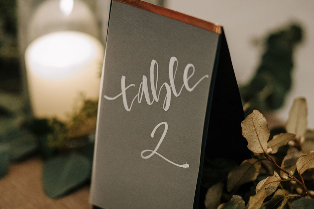 Table Numbers (1-12)