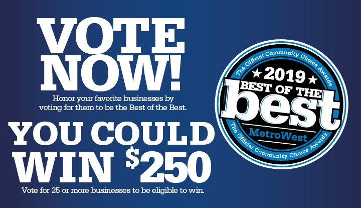 Vote for Lindsay Taylor SPAtique now! Best of the Best MetroWest 2019